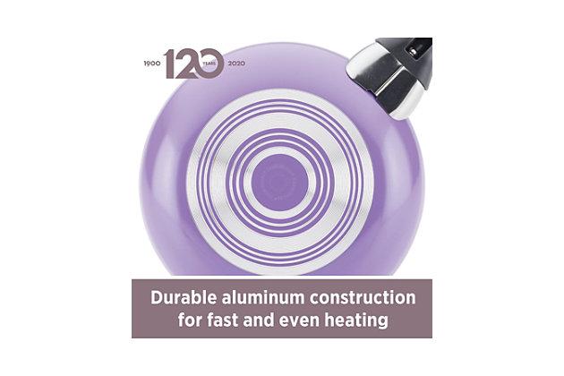 Farberware Dishwasher Safe Aluminum Nonstick 15-Piece Cookware Set, Purple, Purple, large