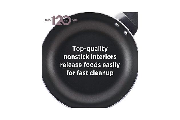 Farberware Dishwasher Safe Aluminum Nonstick 6-Quart Covered Jumbo Cooker w/HH, Aqua, Silver, large
