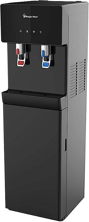 Magic Chef Bottom Loading 5-Gallon Water Dispenser, Black, rollover
