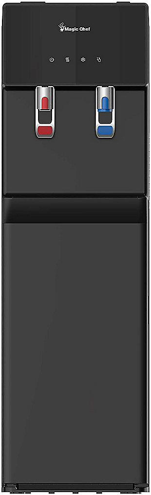 Magic Chef Bottom Loading 5-Gallon Water Dispenser, Black, large