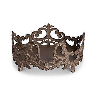 The Gerson Company Gg Collection Acanthus 2-inch Diameter Dinner Plate Holder, , large