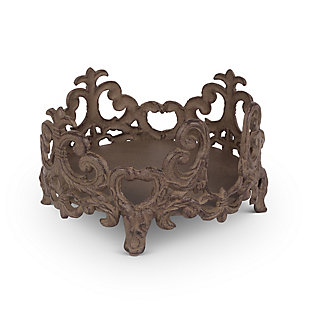The Gerson Company Gg Collection Acanthus 8-Inch Diameter Salad Plate Holder, , large