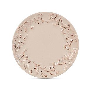 The Gerson Company Set Of 4 Acanthus Appetizer/dessert Plates, , large