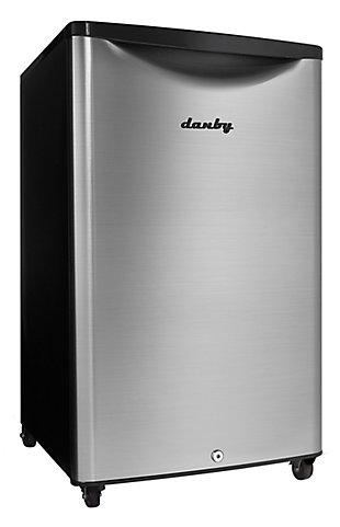 Danby Outdoor 4.4-Cu. Ft. Compact All-Refrigerator with Spotless Steel Door, , rollover