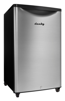 Danby Outdoor 4.4-Cu. Ft. Compact All-Refrigerator with Spotless Steel Door, , large