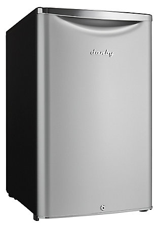 Danby Contemporary Classic 4.4-Cu. Ft. Compact All Refrigerator in Iridium Silver Steel, Silver, rollover