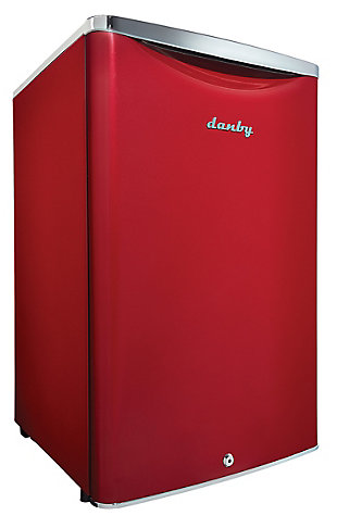 Danby Contemporary Classic 4.4-Cu. Ft. Compact All Refrigerator in Scarlet Red Metallic, Red, large