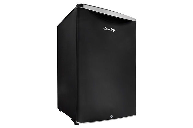 Danby Contemporary Classic 4.4-Cu. Ft. Compact All Refrigerator in Midnight Metallic Black, Black, large