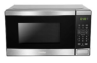 Danby 0.7 cu ft Microwave with Stainless Steel front, , rollover