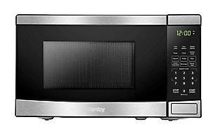 Danby 0.7 cu ft Microwave with Stainless Steel front, , large