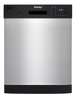Danby Energy Star 24-In. Full-Size Built-In Dishwasher in Stainless Steel, , large