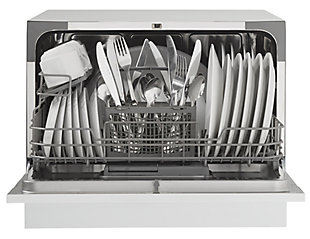 Danby Energy Star Countertop Dishwasher in White, , rollover