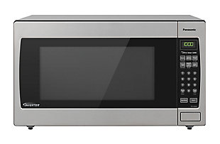 Panasonic 2.2 Cu. Ft. 1250W Genius Sensor Countertop/Built-In Microwave Oven with Inverter Technology, , large