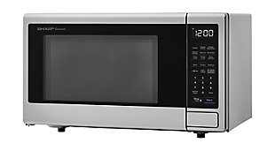 Sharp 1.4-Cu. Ft. Countertop Microwave with Alexa-Enabled Controls, Stainless Steel, , large