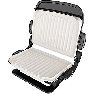 George Foreman 5-Serving Evolve Grill with Waffle Plates And Ceramic Grill Plates, , rollover