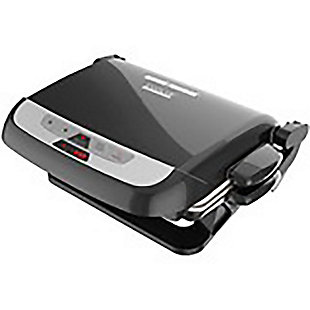 George Foreman 5-Serving Evolve Grill with Waffle Plates And Ceramic Grill Plates, , large