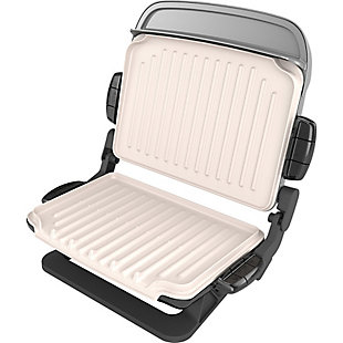 George Foreman Evolve Grill with Waffle Plates And Ceramic Grill Plates, , rollover