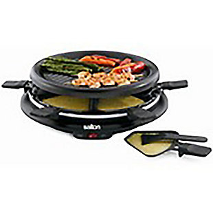 Salton Party Grill and Raclette, 6 person, , large