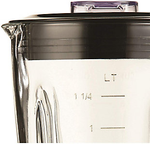 Brentwood 12-Speed Blender with Glass Jar, Black, large