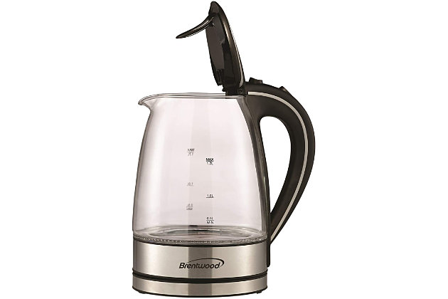 Brentwood 1.7L Cordless Electric Kettle, , large
