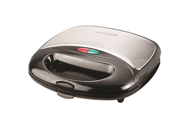 Brentwood Non-Stick Panini Press and Sandwich Maker, , large