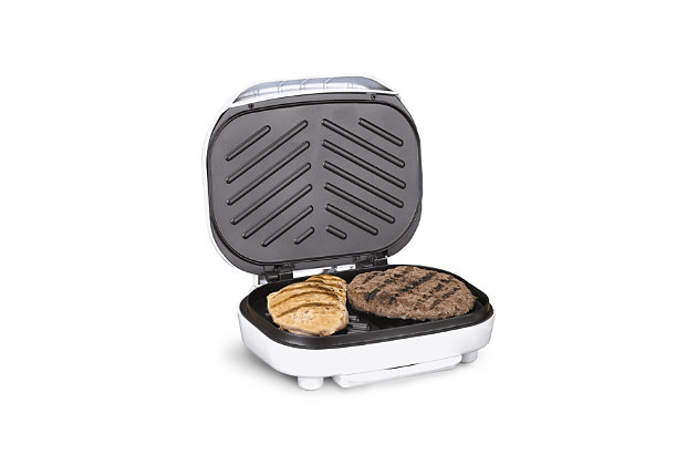 Brentwood Non-Stick Indoor Electric Contact Grill, , large