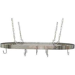 Range Kleen(R) Oval Hanging Pot Rack, , rollover
