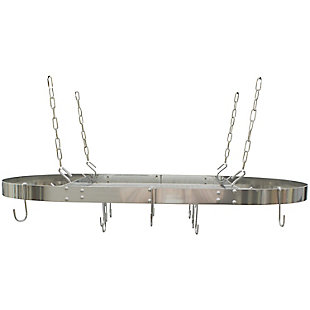 Range Kleen(R) Oval Hanging Pot Rack, , large