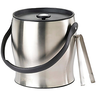 Houdini Double-Walled Ice Bucket with Tongs, , rollover
