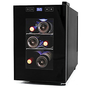 2+Decker(Tm) 6-Bottle Wine Cellar with LED Display, , rollover
