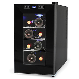 2+Decker(Tm) 8-Bottle Wine Cellar with LED Display, , large