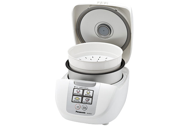 Panasonic(R) Fuzzy Logic Rice Cooker (10-Cup), , large
