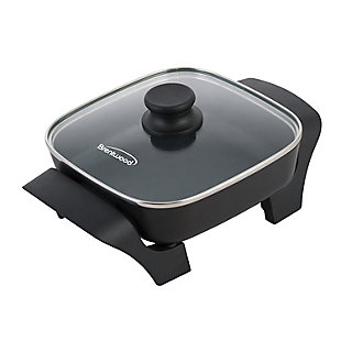 Brentwood(R) Appliances 8-Inch Nonstick Electric Skillet with Glass Lid, , rollover
