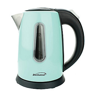 Brentwood(R) Appliances 1-Liter Stainless Steel Cordless Electric Kettle, , large