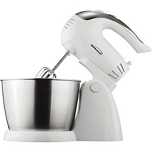 Brentwood(R) Appliances 5-Speed and Turbo Electric Stand Mixer with Bowl, , large