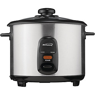 Brentwood(R) Appliances 10-Cup Stainless Steel Rice Cooker, , large