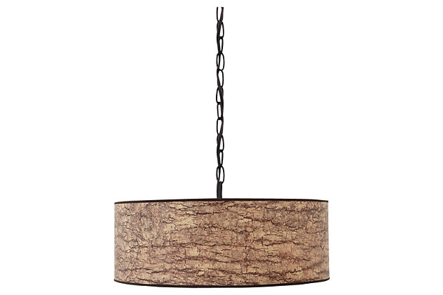 Light Brown Dajuan Pendant Light by Ashley HomeStore