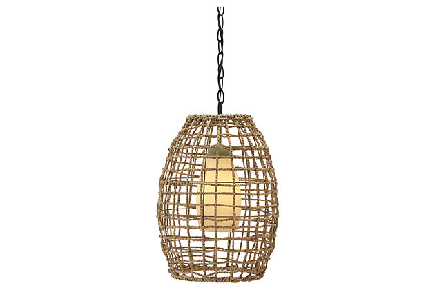 Dalinda Pendant Light by Ashley HomeStore, Tan