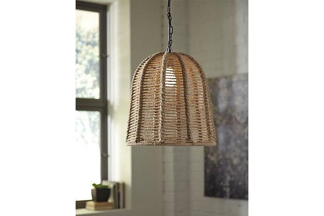 Tan Jamarion Pendant Light by Ashley HomeStore