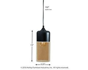 Williamina Pendant Light, , large