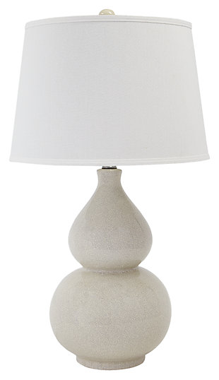 Saffi Table Lamp, Cream, large