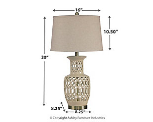 Jayme Table Lamp, , large
