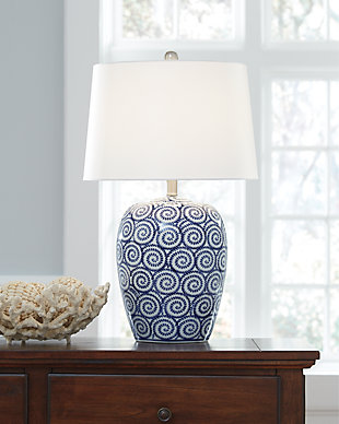 Malini Table Lamp, , rollover
