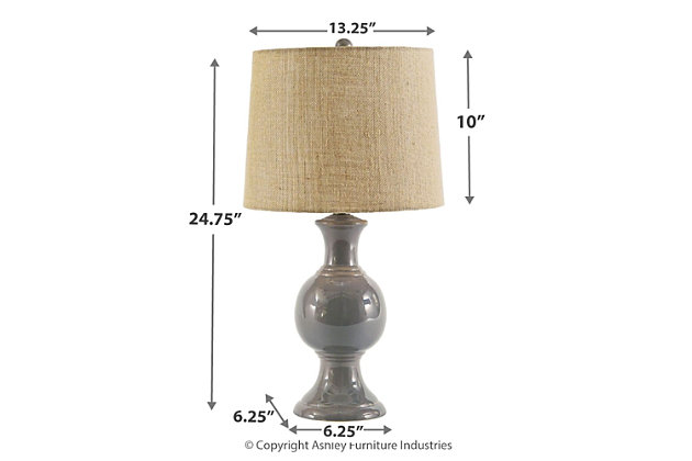 Magdalia Table Lamp, , large