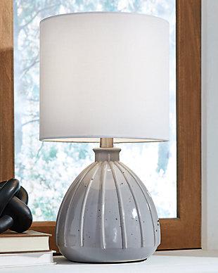 Grantner Table Lamp, Gray, rollover