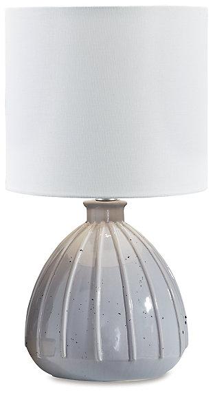 Grantner Table Lamp, Gray, large