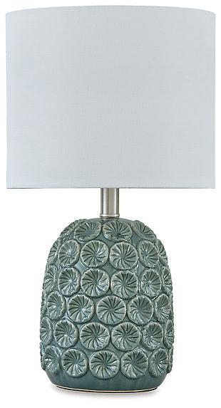 Moorbank Table Lamp, Teal, large