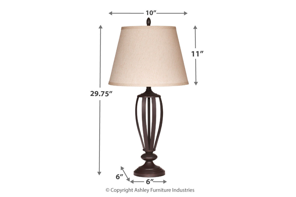 Mildred Table Lamp Set Of 2 Ashley Furniture Homestore