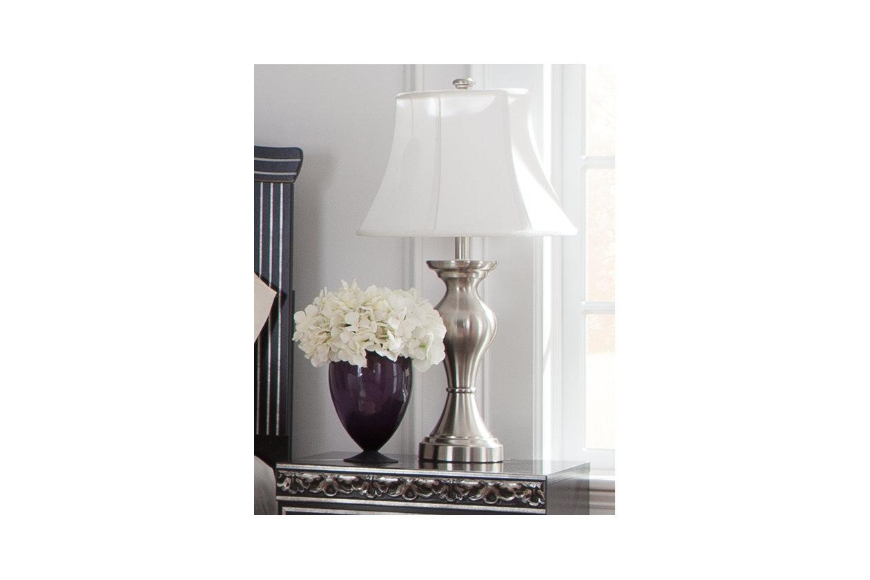 Rishona Table Lamp Set Of 2 Ashley Furniture Homestore