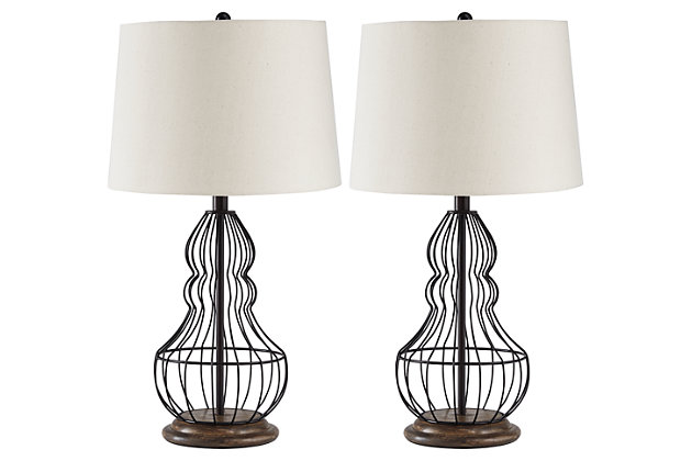 Maconaque Table Lamp (Set of 2), , large